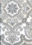 Neo Persia Charcoal Wallpaper 1939/901 By Prestigious Wallcoverings